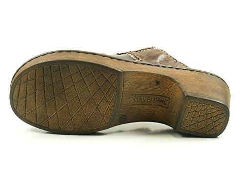 1 EU Seibel Marron Schuhgröße Josef 41 Femme et Rebecca Sabots Mules Farbe 62933 33 88 vZq7d