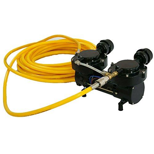 Davv 12v 160w Oil Less Diaphragm Pump Hookah Dive System