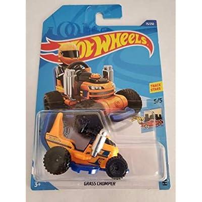 Hot Wheels 2020 Treasure Hunt Hw Ride-Ons Grass Chomper, Orange 75/250: Toys & Games