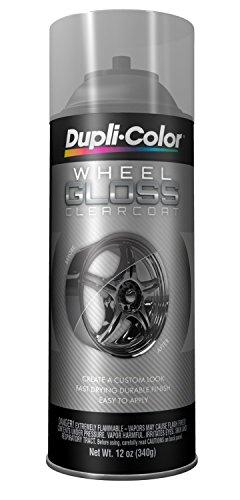 Dupli-Color HWP103 Clear High Performance Wheel Paint - 12 oz