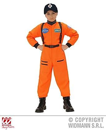 Astronaut Jumpsuit Boys Fancy Dress Space Uniform Kids Childs Costume Outfit