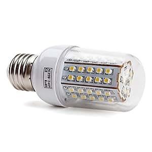 Buy E27 66x3528 SMD 3.5W 430LM 2800-3200K Warm White Light LED Corn Bulb (220-240V)
