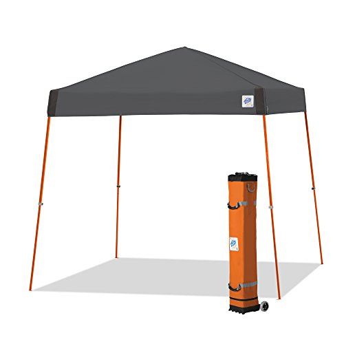 E-Z UP Vista Instant Shelter Canopy, 12 by 12', Steel Grey