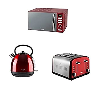 Red Tower Modern Infinity Red Kitchen Set Red Infinity Traditional