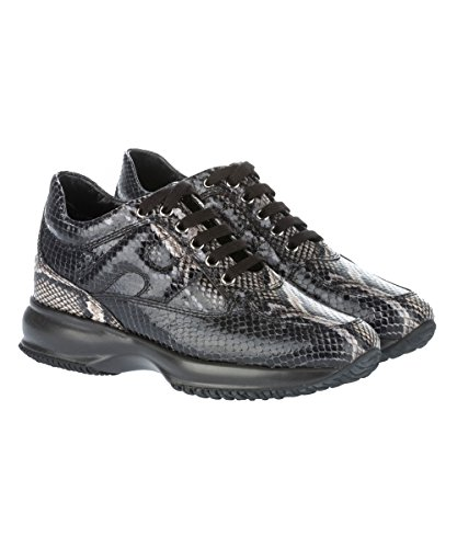 Hogan Sneakers Donna HXW00N00010989B606 Pelle Nero