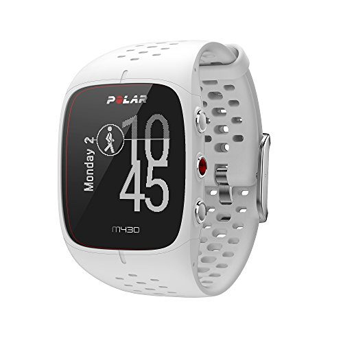 Polar M430 HR Watch White, One Size by Polar