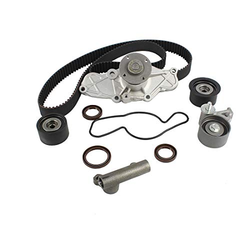 Ford Probe Water Pump - DNJ TBK455WP Timing Belt Kit with Water Pump for 1993-2002 / Ford, Mazda / 626, Millenia, MX-3, MX-6, Probe / 1.8L, 2.5L / DOHC / V6 / 24V / 152cid, 1845cc, 2497cc
