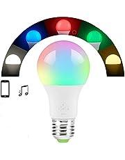 Lampada Inteligente WI-FI 10 W E27 com RGBW Regulavel Comando Google Home e Alexa