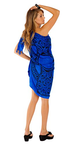 Blue 1 With Celtic para mundo Choice Sarong Covering Sarongs en color mujeres del Your Cross wgIE6q