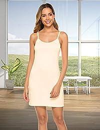 Abelove - Vestido básico para mujer con tirantes ajustables, diseño de espaguetis