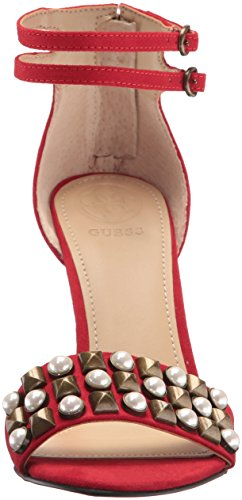 GUESS Women's PETUNIA2 Heeled Sandal Red low cost cheap online cheap high quality buy cheap fashion Style sale popular XCXLEg