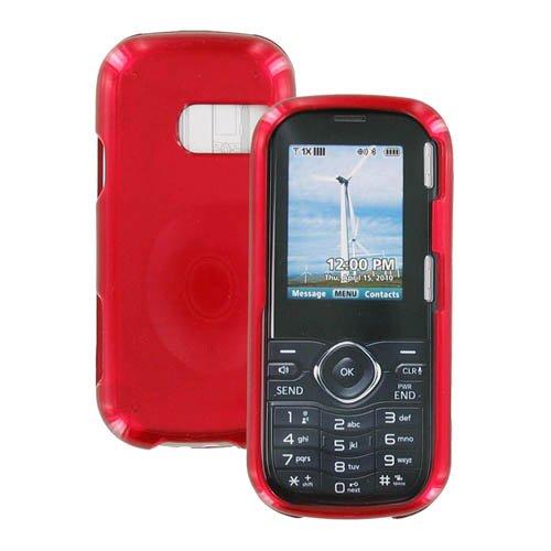 Verizon LGVN250COVRD Lg Cosmos Vn250 Snap-On Hard Case, LG Cosmos - Red