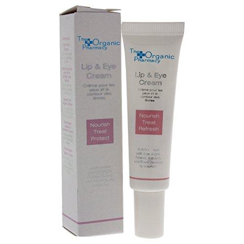 Organic Moisturising Cream - The Organic Pharmacy Lip & Eye Cream, 0.35 Ounce