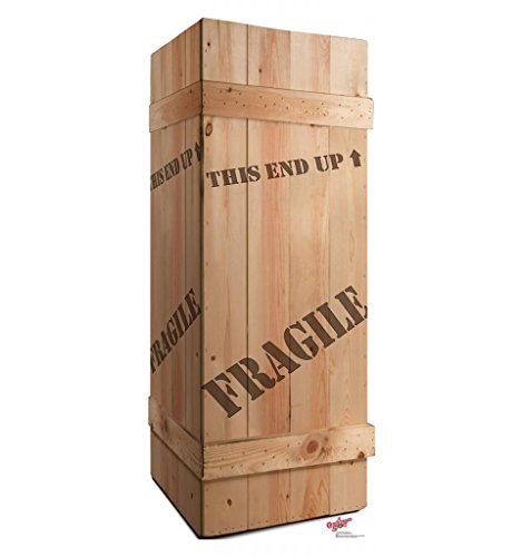 Fragile Leg Lamp Crate - A Christmas Story - Advanced Graphics Life Size Cardboard Standup (Gift Crates Boxes)