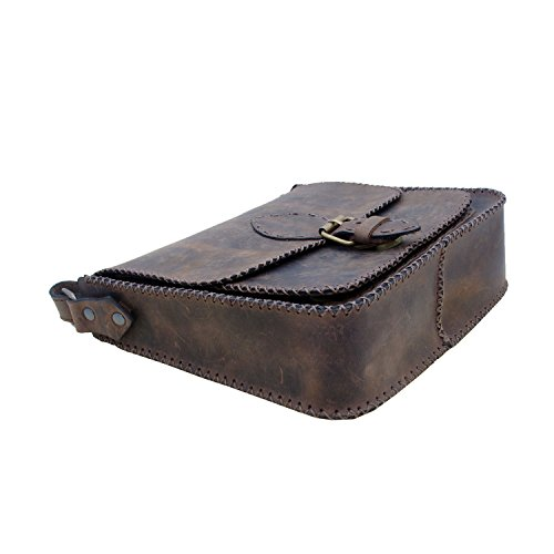 Borsa messenger borsa tracolla genuino borsa a tracolla in pelle di mucca epoca portafoglio fatti a mano