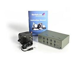 StarTech.com ST224MX 2x4 High Resolution Matrix VGA Video Switch