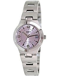 Casio Women's Core LTP1241D-4A Pink Stainless-Steel Analog Quartz Watch