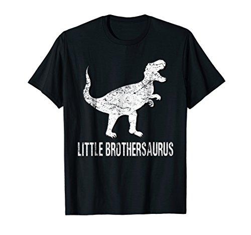 Little Brothersaurus Shirt Brother Dinosaur Mothers Day Gift - Little Brother Dinosaur