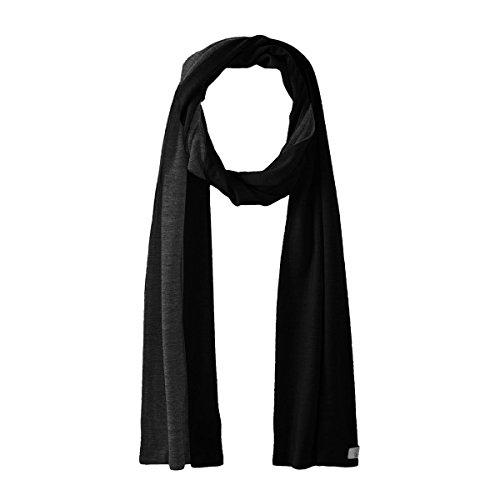 Minus33 Merino Wool Clothing Unisex Alpine Merino Wool Scarf, Charcoal Grey, One (Merino Scarf)