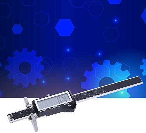 Digital Vernier Caliper Durable Stainless Steel Electronic Measuring Tool Stainless Steel Thickness Gauge for Measurement