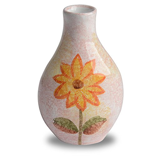 Italian Dinnerware - Vase for single flower - Handmade in Italy from our Primavera Collection
