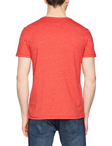 shirt Uomo 683 Tee T racing Rosso Essential Red jeans Logo Tjm Tommy X0nwPxYq