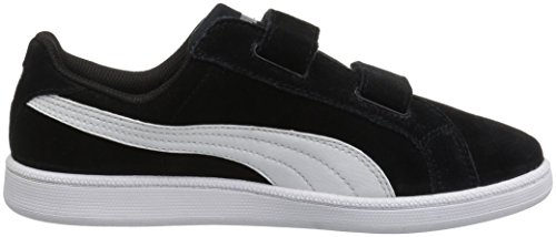 Puma Puma Smash White Puma PS Sneaker SD V Black White Hollyhock Boys' Fun Ppq6gpHnzw