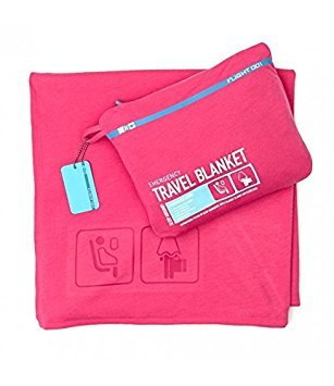 (Emergency Travel Blanket - Pink)