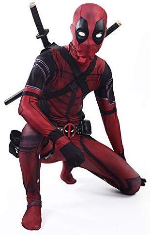 Cosplay Ropa Traje De Deadpool Cosplay Disfraz De Lycra Medias ...