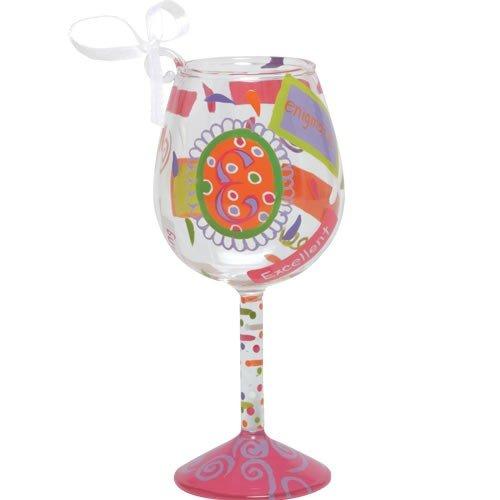 Santa Barbara Design Studio Lolita Holiday Mini-Wine Ornament, Letter (Mini Wine Ornament)