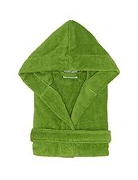 Hooded Bathrobe Terry Cloth Hoodie Bathrobe %100 Cotton for Kids