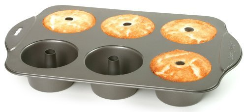 Norpro Nonstick 6 Cup Mini Angel Food Cake Pan by Norpro