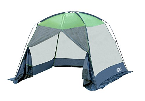 World Famous Sports Screened Canopy Tent, Green/Black