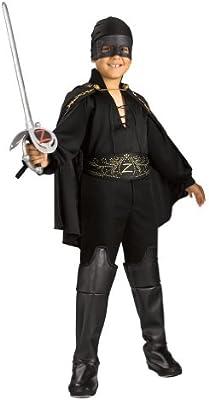 Rubies Disfraz de El Zorro para niño: Amazon.es: Juguetes y juegos