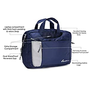 Chris & Kate Blue 4-Way Laptop Bag – Hand | Shoulder | Backpack Bag | Messenger Bag(CKB_195MA)