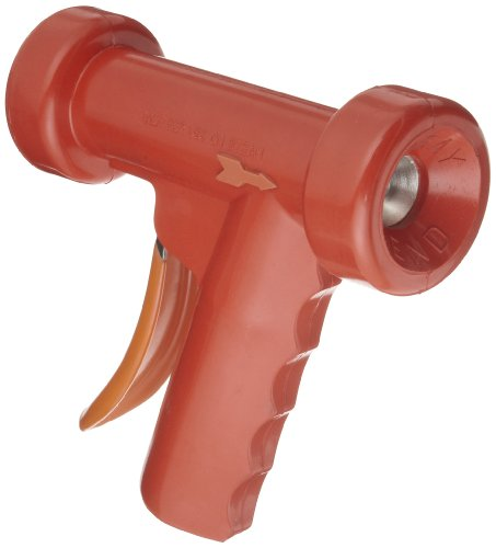 SuperKlean 150A-R Pistol Grip Spray Nozzle, Aluminum, 1/2 NPT, Red by SuperKlean