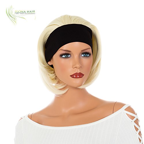 Colorful Party Wig Top Short Wig with Bang Heat Friendly Hair Bob Style Simple Doll HF (613) ()