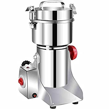 Granos especias Hebals cereales café seco alimentos molinillo molinillo máquina de moler Gristmill Home Medicina harina polvo Crusher: Amazon.es: Hogar