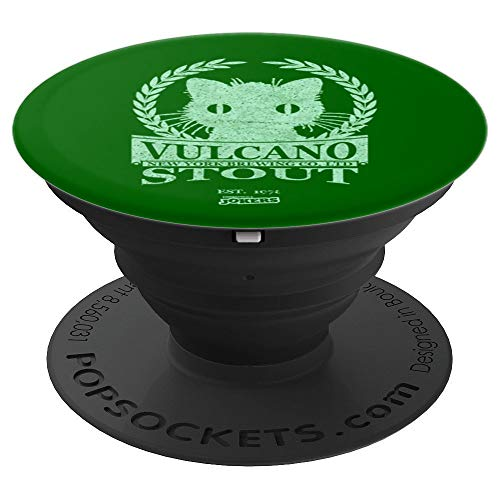 Beer Label Vulcano Stout - PopSockets Grip and Stand for Phones and Tablets (Stout Extra Label)