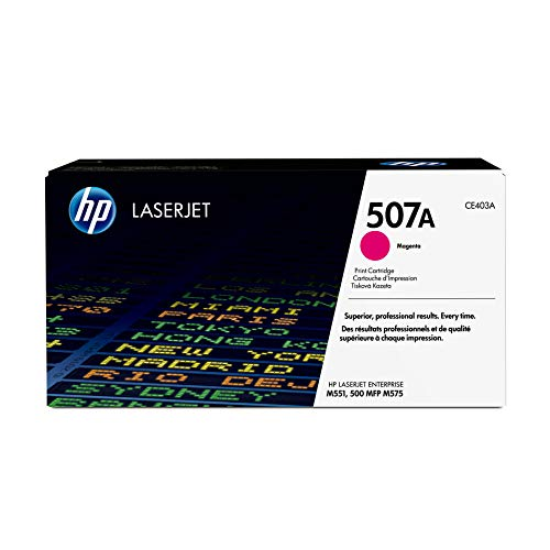 HP 507A (CE403A) Magenta Toner Cartridge for HP LaserJet Enterprise 500 551 570 575