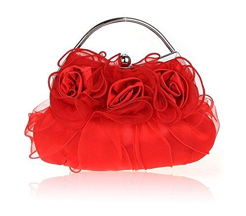 Sra flores bolso/bolsos exquisitos/paquete de novia/paquete de banquete de la moda/bolsos de noche de alto grado/paquete de vestido de dama-C A