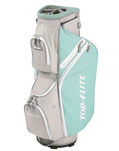 Top Flite Women's 2018 Lightweight Cart Golf Bag Mint Gray