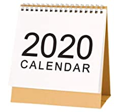Calendario De Escritorio 2019-2020, Calendario Abatible De ...