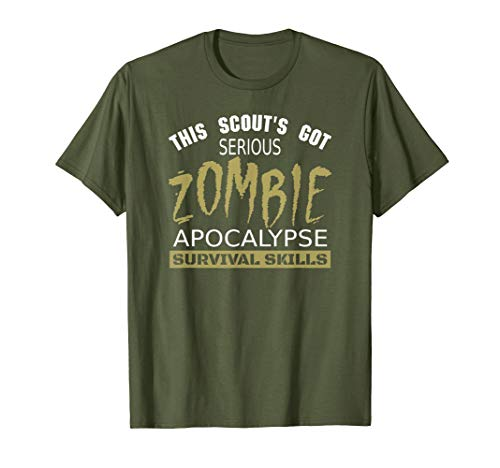 (Awesome Scouting Boys and Girls T-Shirt, Gift for Scout)