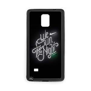Samsung Galaxy Note 4 Cell Phone Case Black we run the night london logo nike SU4424332