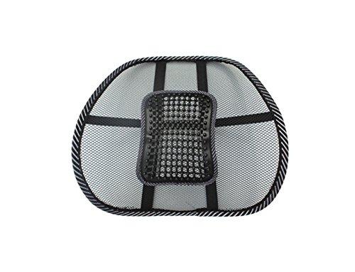 Summer ice silk breathable mesh seat lumbar pillow waist cushion massage cushion