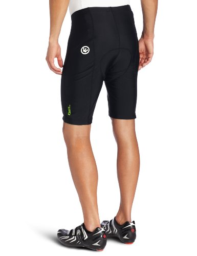 Canari Velo Gel Cycling Short Mens (Black, Medium) by Canari Cyclewear (Image #2)