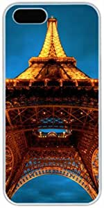 Eiffel Tower Night View Theme For Apple Iphone 5/5S Case Cover