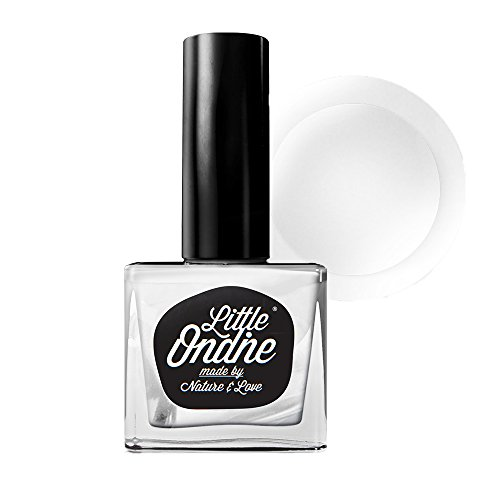 (Little Ondine Water-Based Peel off Base and Top Coat Nail Polish 2 in 1 (LT-Secret))