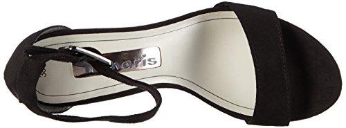 Tamaris 28316 - Sandalias de tobillo Mujer Negro - negro